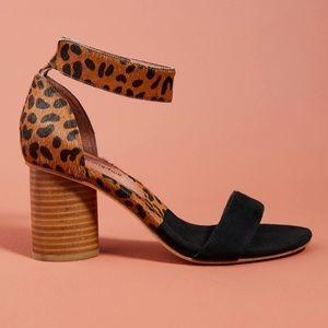 Jeffrey Campbell Purdy Block Heel- Cheetah